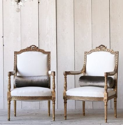 http://www.thebellacottage.com/vintage-french-style-pair-of-gold-gilt-armchairs.html