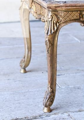 http://www.thebellacottage.com/stunning-and-chic-vintage-coffee-table-in-glistening-gilt.html