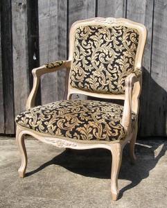 kursi antik fauteuil