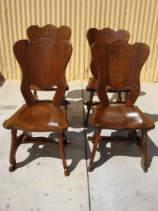 kursi makan antik belanda