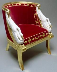 kursi gondola antik Perancis
