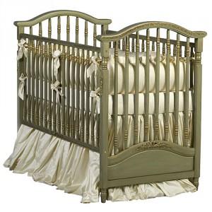 tempat tidur bayi antik eropa